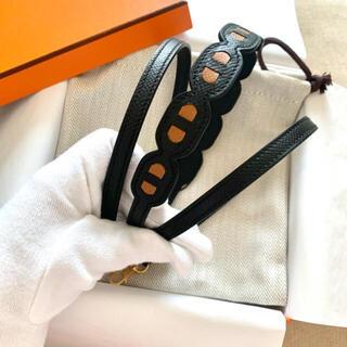 エルメス(Hermes)の専用✨エルメス バンドリエール シェーヌダンクル 105センチ(ショルダーバッグ)