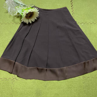 アマカ(AMACA)の16日限定!最終価格!アマカ☆茶色の素敵なスカート☆(ひざ丈スカート)