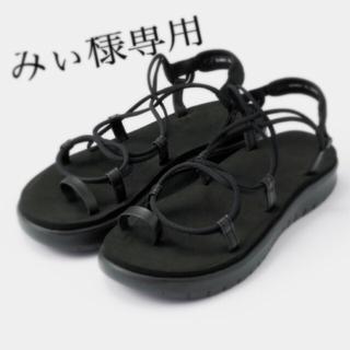 ジーユー(GU)のGU★ソフトアーチエアリースポーツサンダル(サンダル)