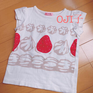 こども ビームス - オジコ イチゴTシャツ 80