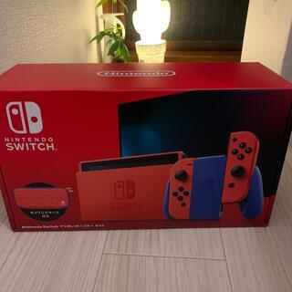 Nintendo Switch - 新品 Nintendo Switch マリオ レッド×ブルー セット