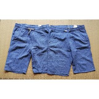 エイチアンドエム(H&M)のH&M リネン混 ハーフパンツ 140 2枚セット(パンツ/スパッツ)