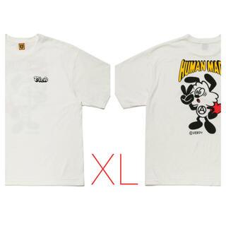 GDC - HUMAN MADE × VERDY コラボT#2 WH XL