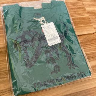 エフオーキッズ(F.O.KIDS)の恐竜 骨 半袖Tシャツ サイズ120(Tシャツ/カットソー)