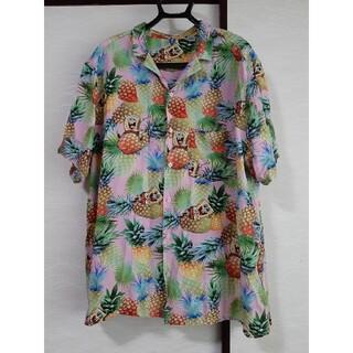 スポンジボブ × H&M アロハシャツ(シャツ)