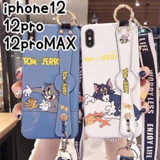 iPhone - ♥iPhone12 12pro ケース 大人可愛い ハンドベルト付き カップル