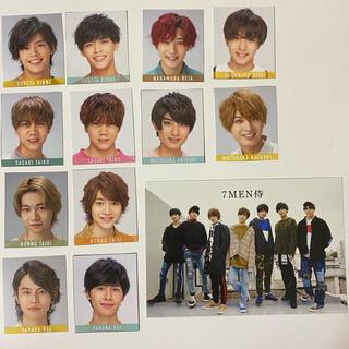 ジャニーズジュニア(ジャニーズJr.)の7 MEN 侍(写真/ポストカード)