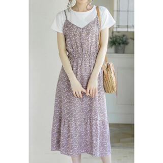 GRL - GRL 花柄ワンピース【新品・Tシャツ付】