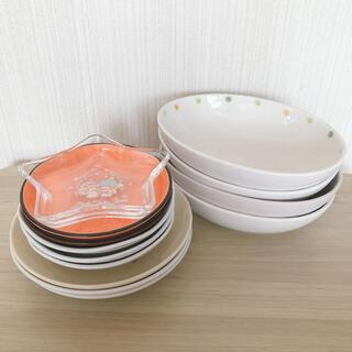 食器 丸皿&小皿&オーバル皿 6種13個 まとめ売り カレーやパスタに♪(食器)