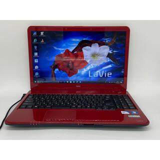 NEC - Windows10 NEC ラズベリーレッド ノートパソコン オフィス