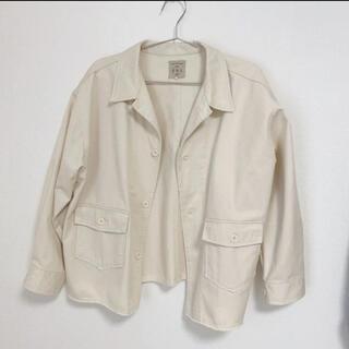サマンサモスモス(SM2)のジャケット ホワイト (クリーニング済)(テーラードジャケット)