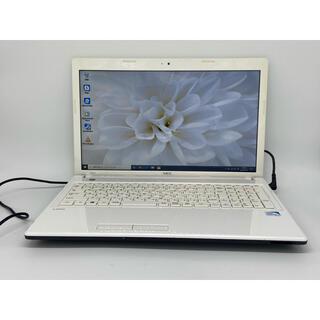 NEC - Windows10 NEC エクストラホワイト ノートパソコン オフィス