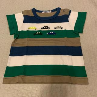 familiar - ファミリア ボーダーTシャツ 90
