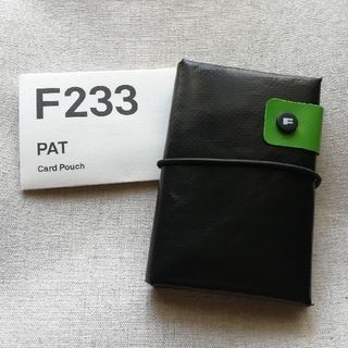 FREITAG - 未使用新品 FREITAG F233 PAT ブラック グリーン カード
