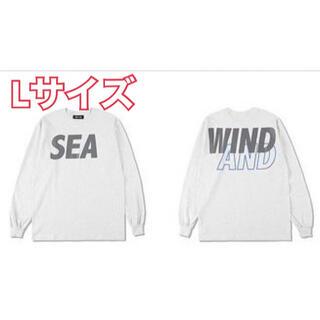 SEA - WIND AND SEA ロンT Lサイズ Tシャツ Ash-Gray