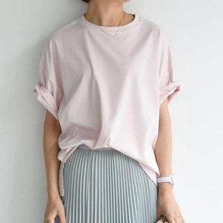 Drawer - cen.コットンTシャツ ピンク