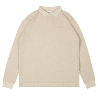 ballaholic LOGO L/S Polo Shirt