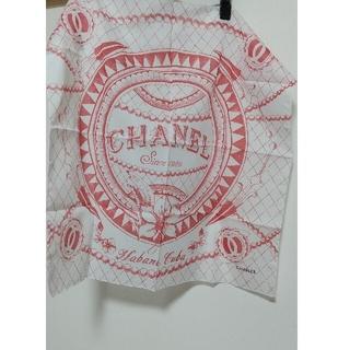 CHANEL - 正規品 CHANEL ハンカチ バンダナ スカーフ