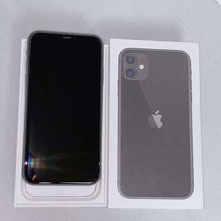 iPhone - 【新品級99%】iPhone11 64GB 本体 黒 ブラック