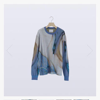 1LDK SELECT - HATRA SYN FEATHER SWEATER / SWALLOW