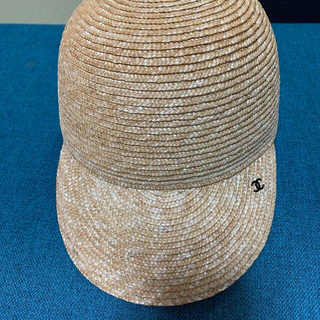 シャネル(CHANEL)のシャネル 麦わらキャップ ストローハット ファレル(麦わら帽子/ストローハット)