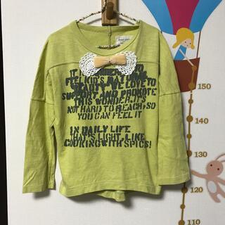 ゴートゥーハリウッド(GO TO HOLLYWOOD)のgotohollywood  ゴートゥ リボンラグラン長袖カットソー 120(Tシャツ/カットソー)