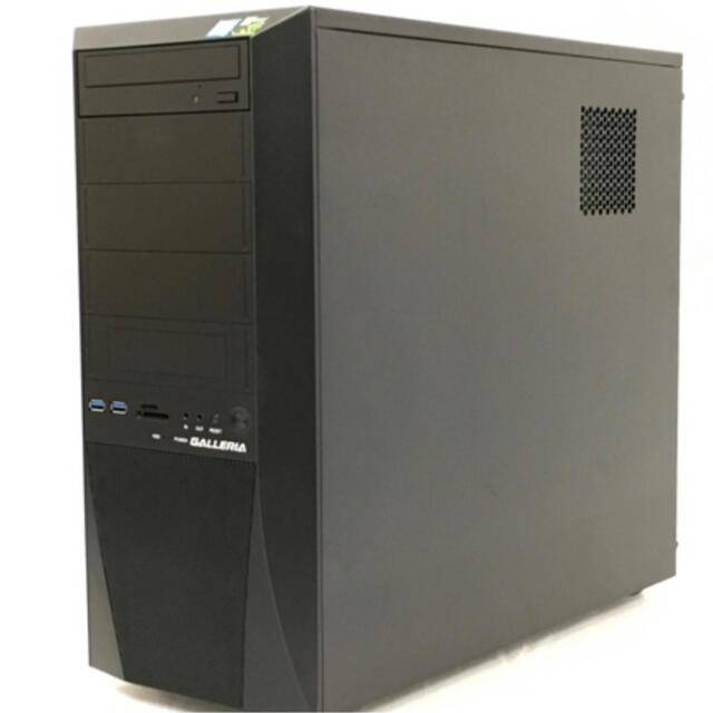 ドスパラxv gtx1070ti i7 8700  高性能ゲーミングpc スマホ/家電/カメラのPC/タブレット(デスクトップ型PC)の商品写真