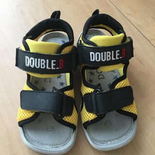 ダブルビー(DOUBLE.B)のダブルビー 17.0(サンダル)