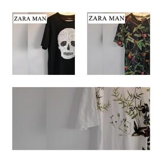 ザラ(ZARA)のzara man 3枚セット Tシャツ 40 42(Tシャツ/カットソー(半袖/袖なし))