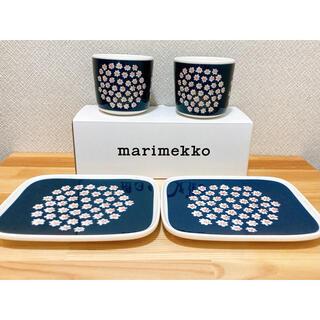 marimekko - マリメッコ プケッティ ラテマグ プレートセット