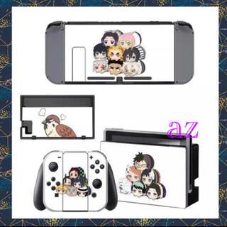 ニンテンドースイッチ(Nintendo Switch)の◎SALE◎ 鬼滅の刃 任天堂Switch 保護スキンシール《ち》✦ 汚れ防止(その他)