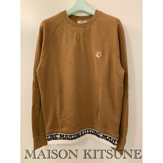 MAISON KITSUNE'(メゾンキツネ)のMAISON KITSUNE   クルーネック スウェット トレーナー メンズのトップス(スウェット)の商品写真