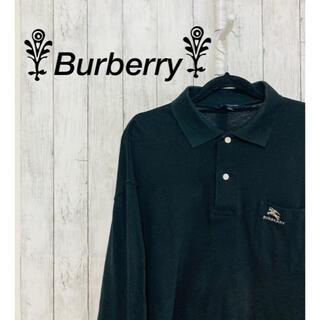 バーバリー(BURBERRY)の【美品】Burberry 長袖シャツ バーバリー シャツ メンズ ブラック 黒(シャツ)