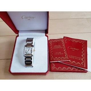 Cartier - カルティエ タンクフランセーズ コンビ MM