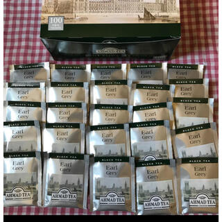 カルディ(KALDI)のアーマッド紅茶アールグレイ25袋AHMADTEA(茶)