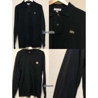カーハート(carhartt)のBlack Carhartt Lacoste(Tシャツ/カットソー(七分/長袖))