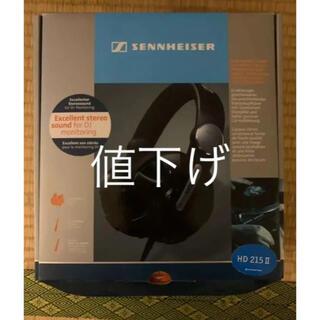 SENNHEISER - 【中古】SENNHEISER HD 215-2 215II 箱付き