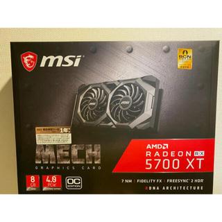 MSI Radeon RX 5700 XT MECH OC グラフィックボード