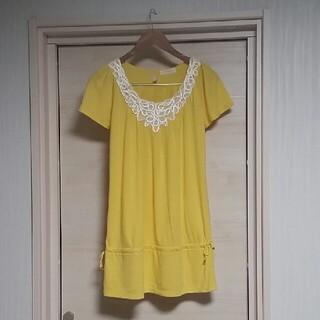 エニィスィス(anySiS)の【春夏用】黄色 チュニック(チュニック)