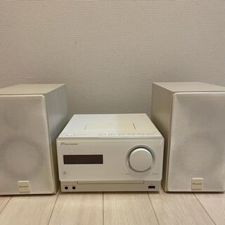 パイオニア(Pioneer)のPioneer X-CM31-W CDミニコンポ(ポータブルプレーヤー)