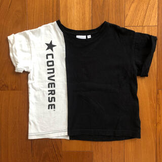 ブランシェス(Branshes)のブランシェス コンバースコラボ半袖Tシャツ 100(Tシャツ/カットソー)