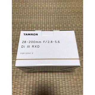 タムロン(TAMRON)の『新品送料無料』4台 TAMRON 28-200mm (Model A071)(レンズ(ズーム))