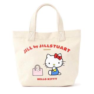 ジルバイジルスチュアート(JILL by JILLSTUART)のハローキティ エコバッグ  トートバッグ(トートバッグ)