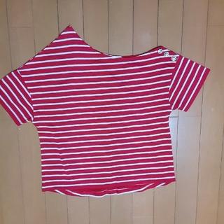 アズノウアズ(AS KNOW AS)のアズノウアズ ボーダーTシャツ(Tシャツ(半袖/袖なし))