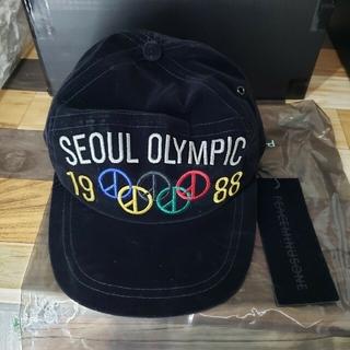 ピースマイナスワン(PEACEMINUSONE)のPMO SEOUL OLYMPIC SNAP BACK #1 BLACK(キャップ)