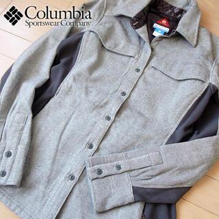Columbia - 超美品 M コロンビア レディース omni-heat ジャケット グレー