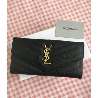 イヴサンローランボーテ(Yves Saint Laurent Beaute)の❤大人気❤☆さいふ☆Saint Laurent❤サンローラン 長財布 小銭入れ (名刺入れ/定期入れ)