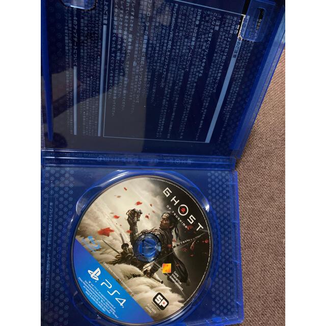 Ghost of Tsushima(ゴースト・オブ・ツシマ) PS4 エンタメ/ホビーのゲームソフト/ゲーム機本体(家庭用ゲームソフト)の商品写真