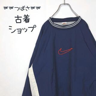 ナイキ(NIKE)の【大人気⭐︎】【銀タグ⭐︎】NIKE ナイロンジャケット 刺繍 スウッシュ 90(ナイロンジャケット)