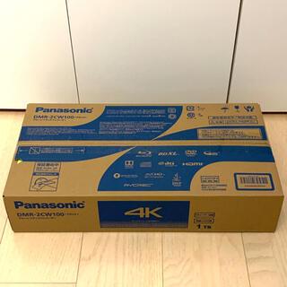 Panasonic - 【新品未開封】Panasonic ブルーレイレコーダー DMR-2CW100